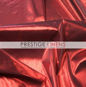 Tissue Lame Table Linen - Red