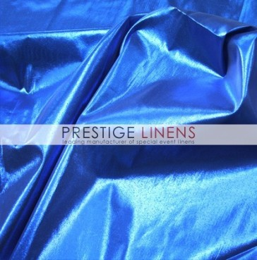 Tissue Lame Table Linen - Royal