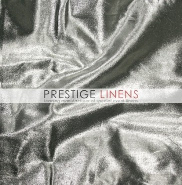 Tissue Lame Table Linen - Silver