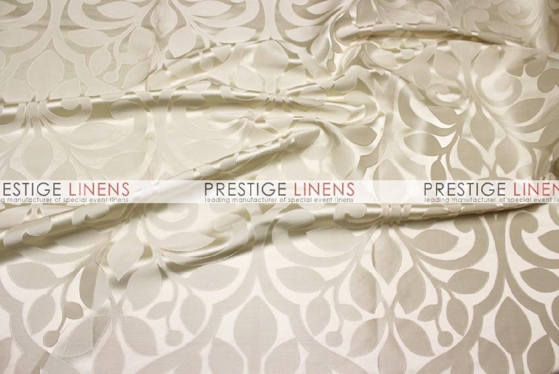 Tuscany Jacquard Table Linen Ivory Prestige Linens