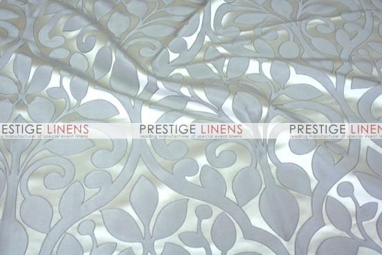 Tuscany Jacquard Table Linen - Silver