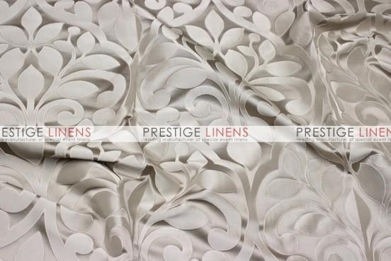 Tuscany Jacquard Table Linen - Taupe