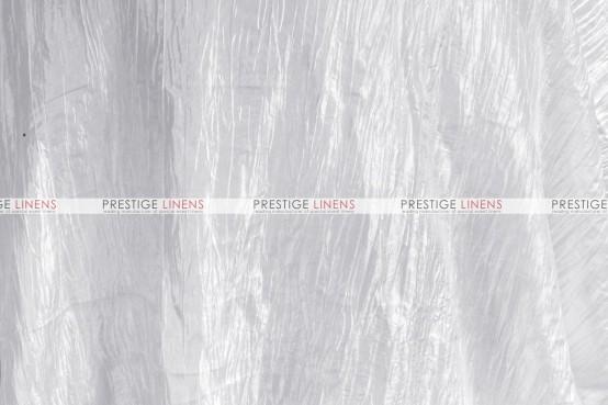 Crushed Taffeta Draping - 126 White