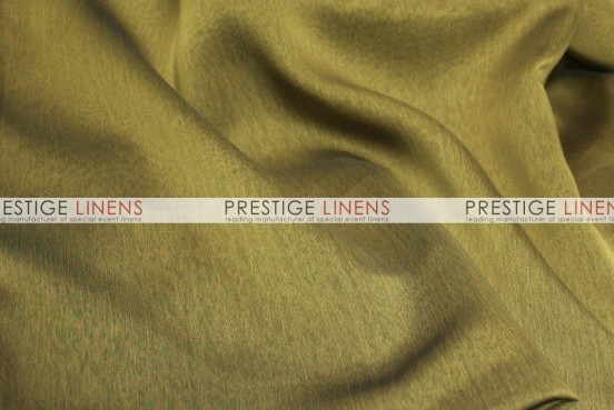 Two Tone Chiffon Table Linen - Black/Gold