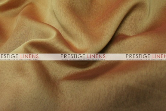 Two Tone Chiffon Table Linen - Gold