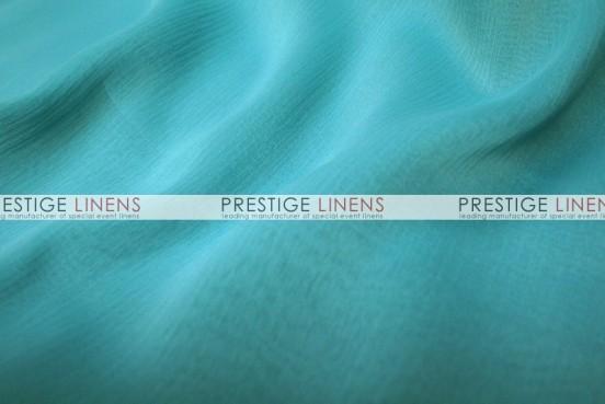 Two Tone Chiffon Table Linen - Jade