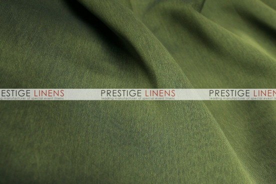 Two Tone Chiffon Table Linen - Med Olive
