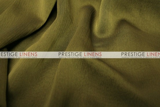 Two Tone Chiffon Table Linen - Olive
