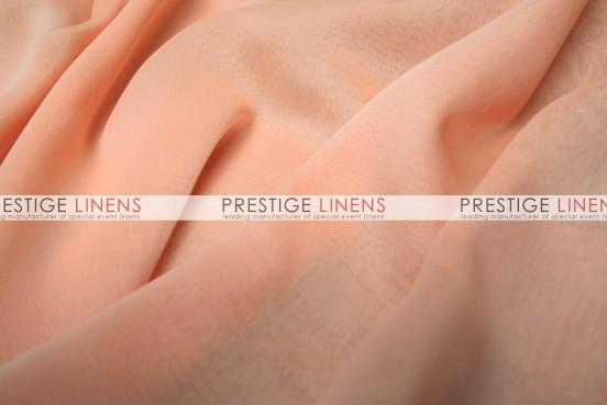 Two Tone Chiffon Table Linen - Peach