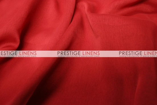 Two Tone Chiffon Table Linen - Red