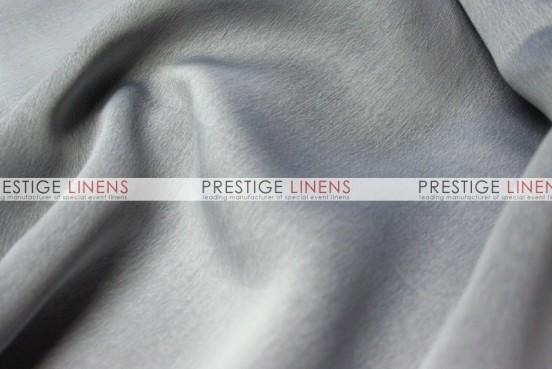 Two Tone Chiffon Table Linen - Silver/Black