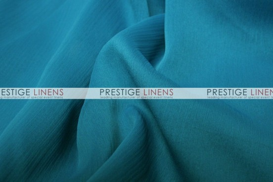 Two Tone Chiffon Table Linen - Teal