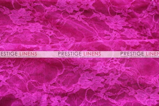 Victorian Stretch Lace Table Linen - Fuchsia