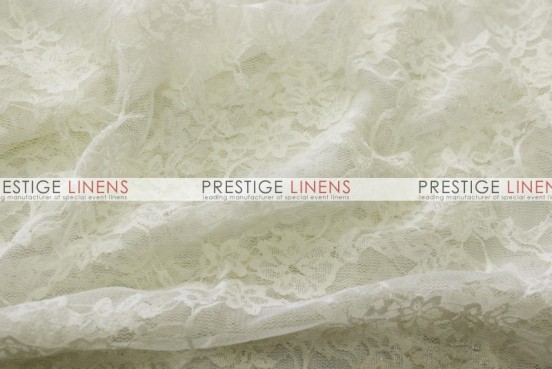Victorian Stretch Lace Table Linen - Ivory