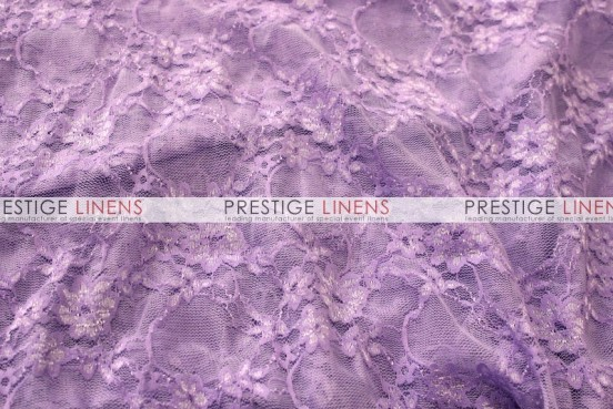 Victorian Stretch Lace Table Linen - Lilac
