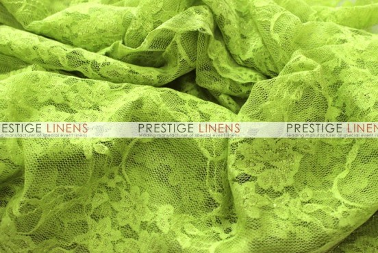 Victorian Stretch Lace Table Linen - Lime