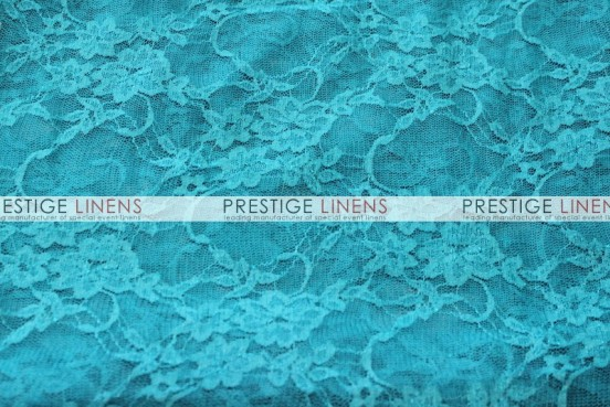 Victorian Stretch Lace Table Linen - Teal