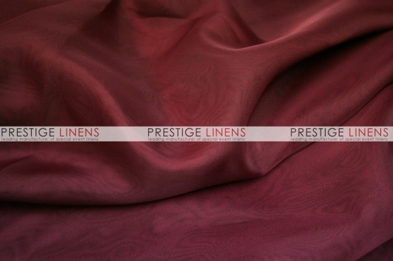 Voile Table Linen - Burgundy