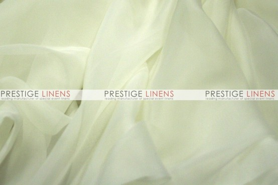 Voile Table Linen - Ivory