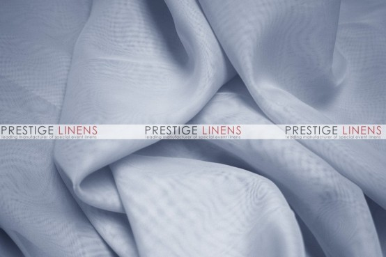 Voile Table Linen - Silver