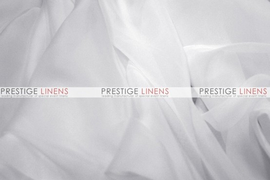 Voile Table Linen - White