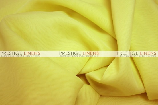 Voile Table Linen - Yellow