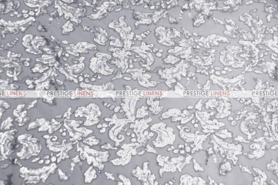 Wendy Table Linen  -  Silver