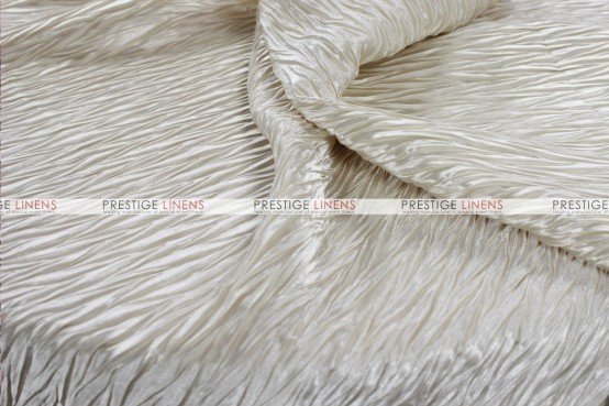 Xtreme Crush Table Linen - Ivory