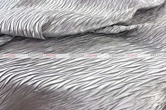 Xtreme Crush Table Linen - Silver