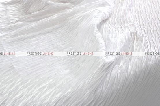 Xtreme Crush Table Linen - White