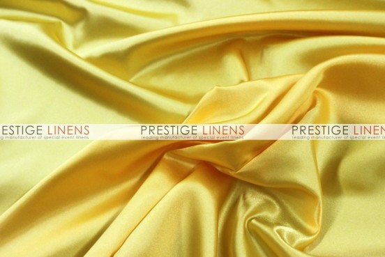Bridal Satin Table Runner - 426 Yellow