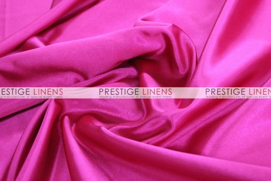 Bridal Satin Table Runner - 528 Hot Pink