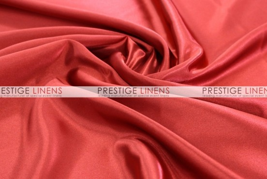 Bridal Satin Table Runner - 626 Red