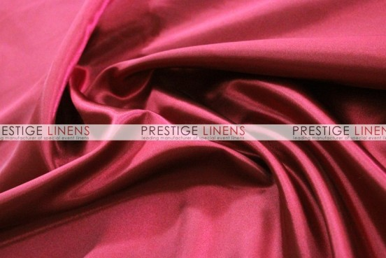 Bridal Satin Table Runner - 627 Cranberry