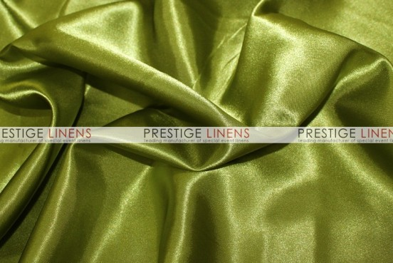 Bridal Satin Table Runner - 749 Dk Lime