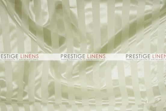 Bridal Satin Stripe Table Runner - Ivory