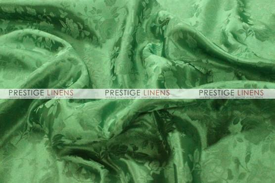 Brocade Satin Table Runner - Flag Green