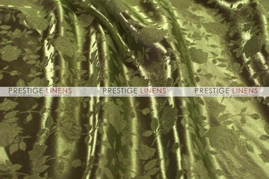 Brocade Satin Table Runner - Olive