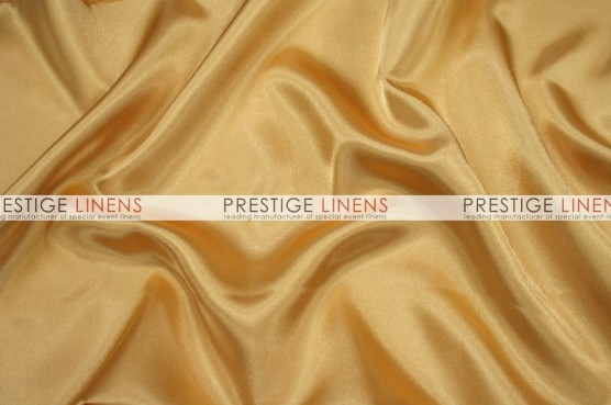 Charmeuse Satin Table Runner - 230 Sungold