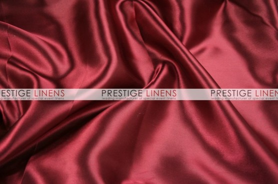 Charmeuse Satin Table Runner - 627 Cranberry