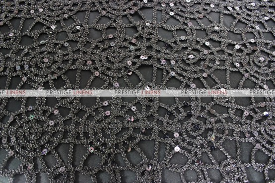Chemical Lace Table Runner - Black