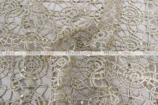 Chemical Lace Table Runner - Champagne