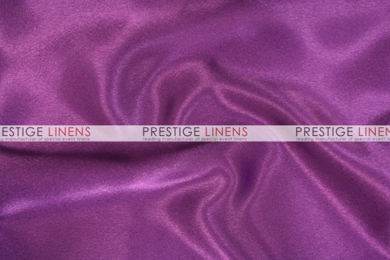 Crepe Back Satin (Japanese) Table Runner - 1044 Eggplant