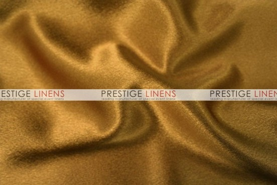 Crepe Back Satin (Japanese) Table Runner - 229 Dk Gold