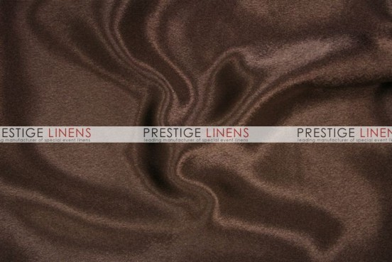 Crepe Back Satin (Japanese) Table Runner - 333 Brown