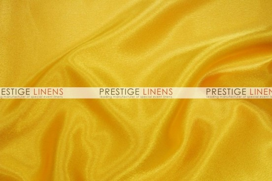 Crepe Back Satin (Japanese) Table Runner - 426 Yellow