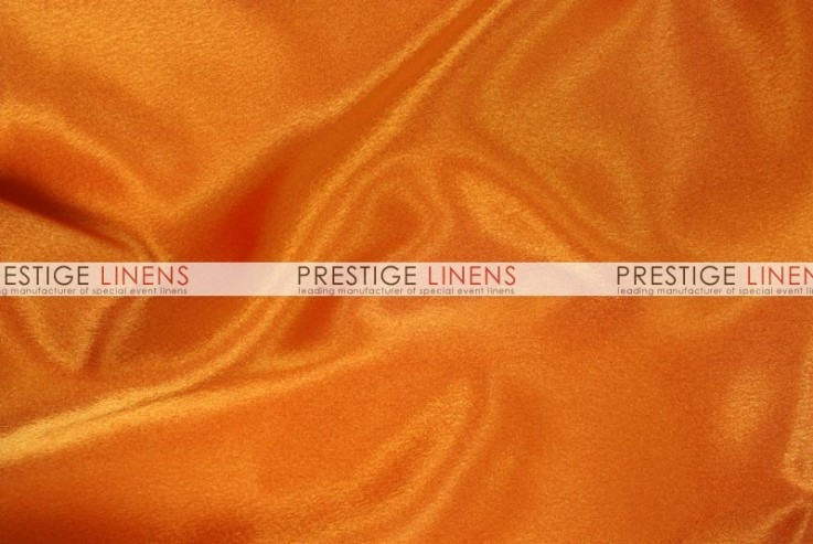 Crepe Back Satin (Japanese) Table Runner   431 Orange
