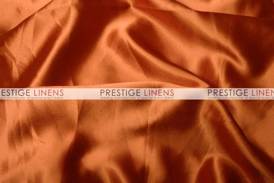 Crepe Back Satin (Japanese) Table Runner - 447 Dk Orange
