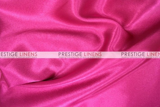 Crepe Back Satin (Japanese) Table Runner - 528 Hot Pink