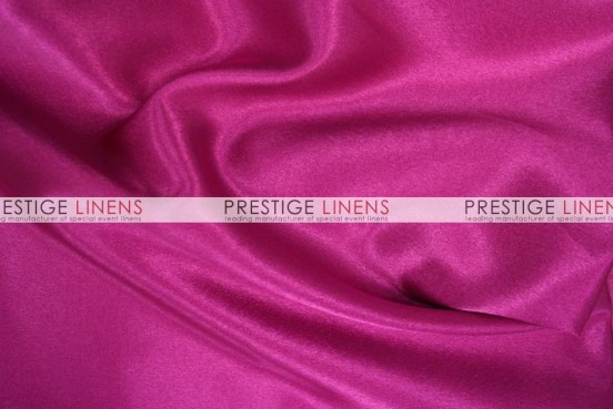 Crepe Back Satin (Japanese) Table Runner - 529 Fuchsia